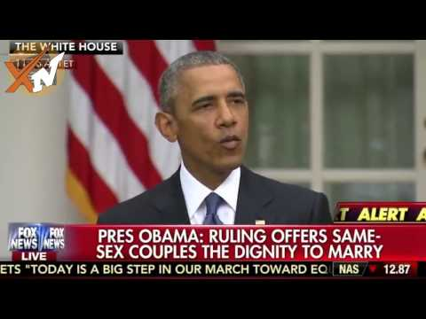 Obama speech on gay