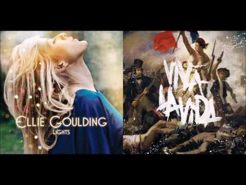 Viva La Starry Eyes - Ellie Goulding vs. Coldplay (Mashup)