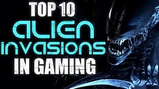 Top 10 Alien Invasions In Gaming
