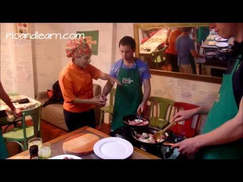 Brazilian Cuisine class 16.06.16 RioLIVE!