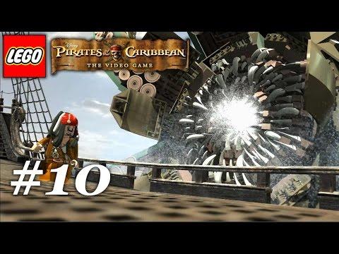 LEGO Pirates Of The Caribbean Walkthrough The Kraken - Dead Man's Chest Video 10