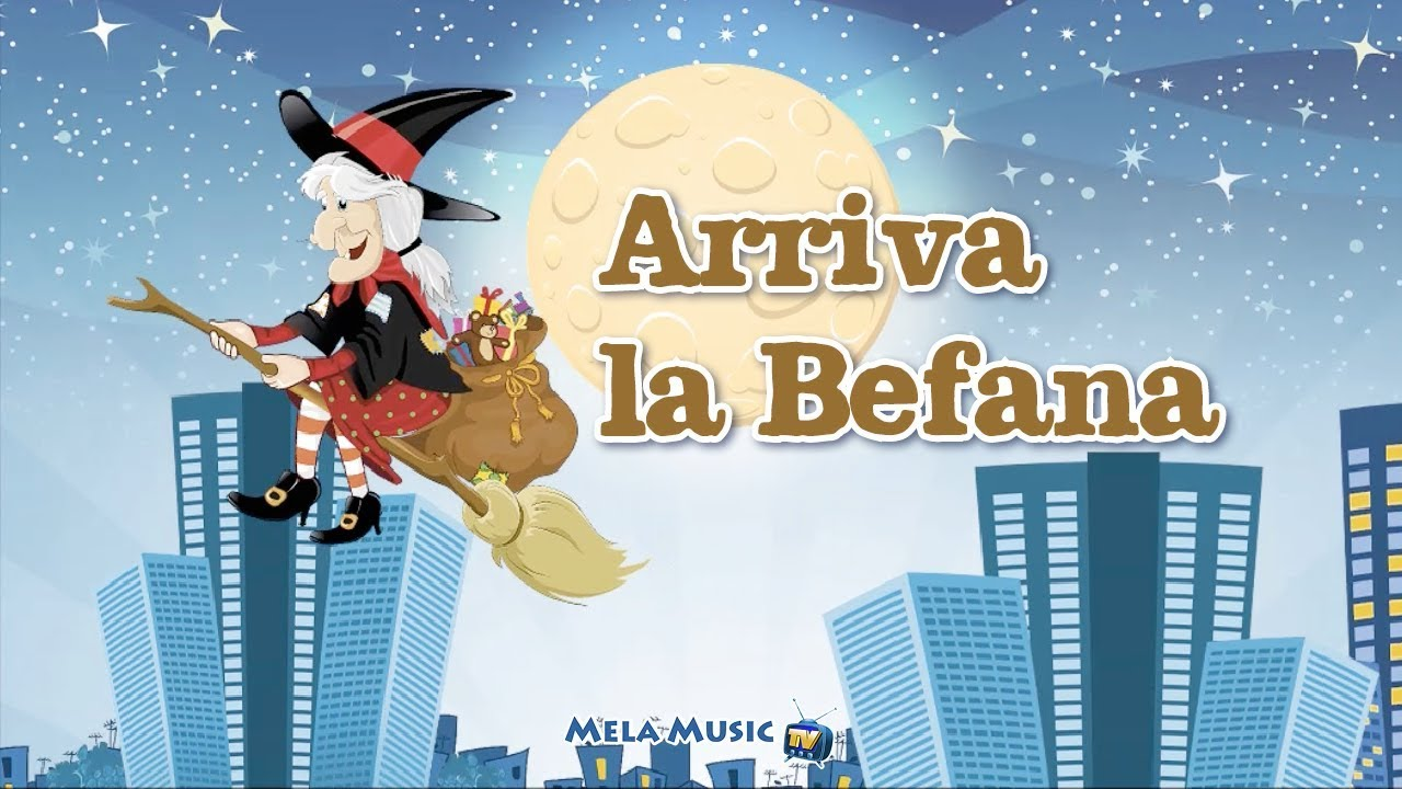Buon natale arriva la befana canzoni per bambini di for Natale immagini per desktop