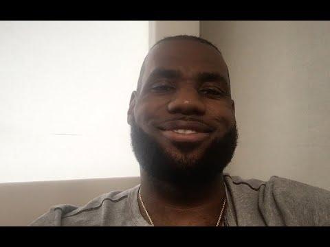 LeBron James Applauds Cleveland Indians' Win Streak