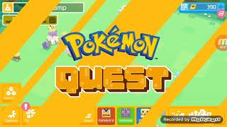 DEFEATING ONIX IN POKEMON QUEST