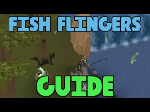 Fish Flingers Guide - Easy Fishing XP [Runescape 2014]