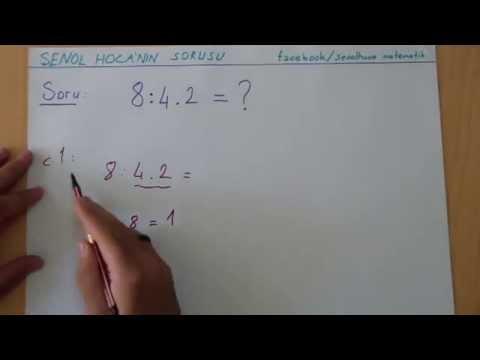 Matematik Konu Anlatımı Şenol Hoca Matematik