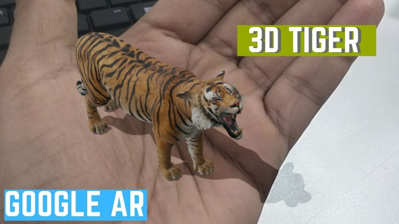3D TIGER in Google (View AR Tiger 3D in Google Search) - YouTube