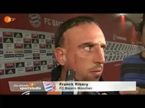 Ribéry im ZDF Interview - bleibt er in München oder nicht?