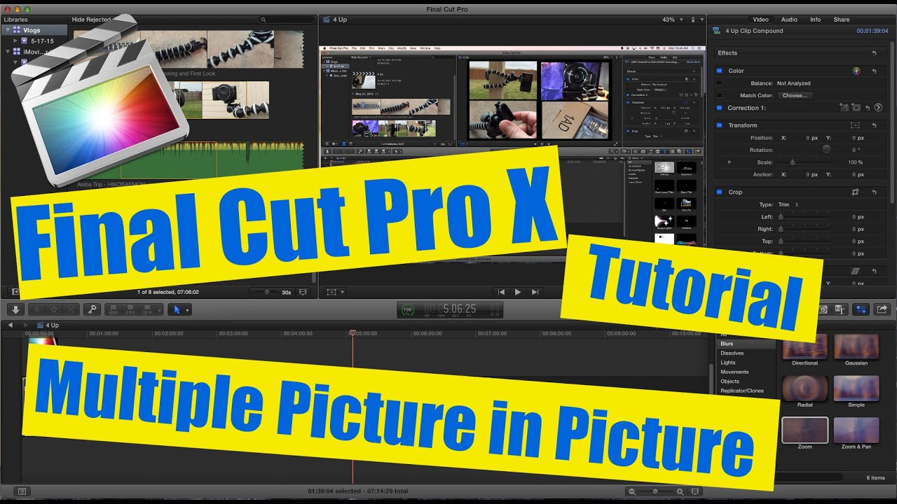 how to uninstall final cut pro x