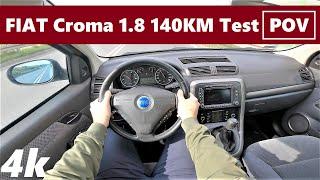 Fiat Croma 1.8 140km (2006) POV Drive Test & Acceleration   Grat Family Car   4K #67