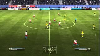 PS3 FIFA 12 Liga - Hamburger SV - Borussia Dortmund - HZ 1