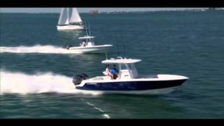 Contender Boats Sport Series 24S and 28S running side by side