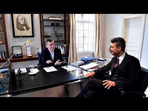 Macri y Tinelli hicieron las paces tras una distendida reunión en la quinta de Olivos