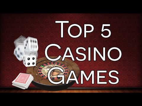 Top 5 Casino Games - The Best Card, Dice And Tabletop Games