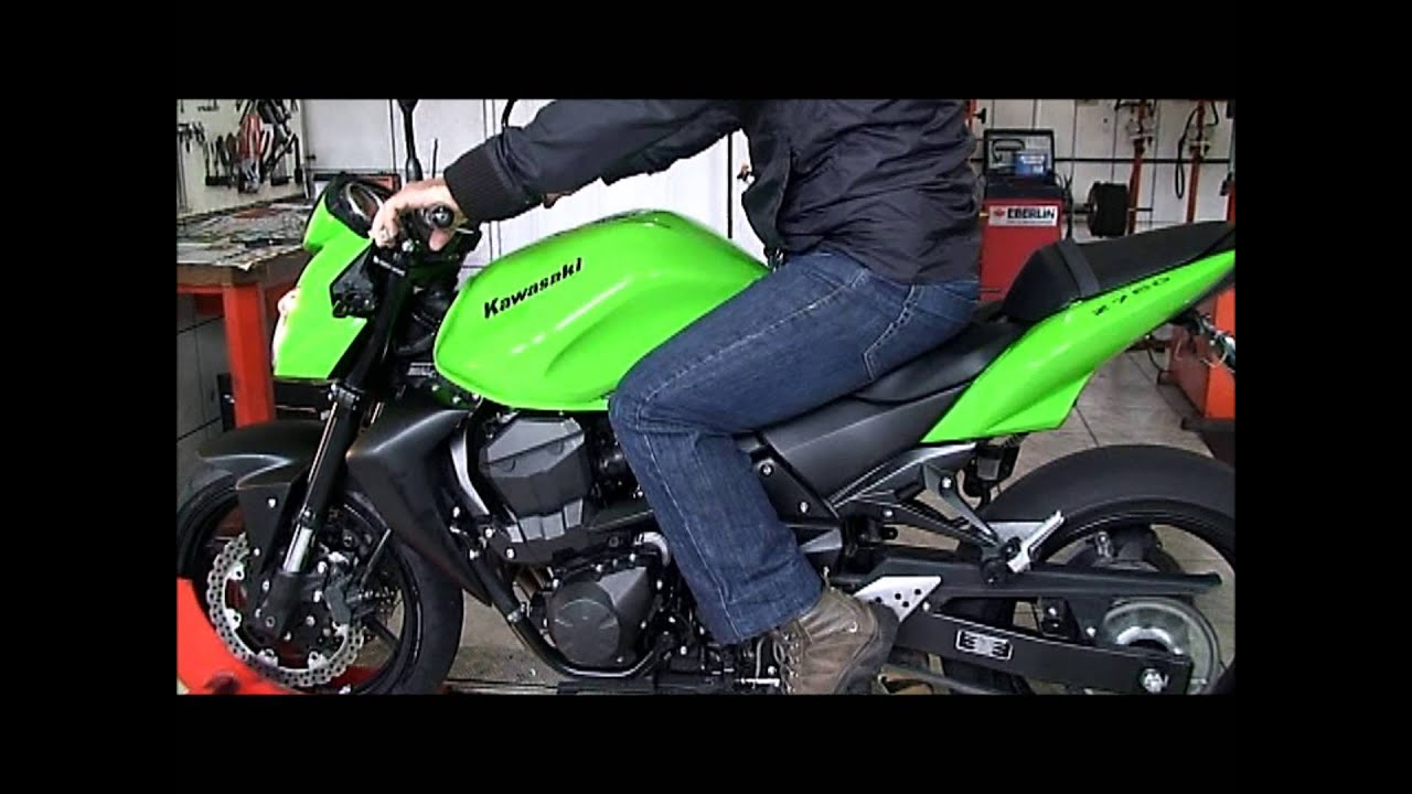 lr motos kawasaki z750 verde no simulador de velocidade youtube. Black Bedroom Furniture Sets. Home Design Ideas