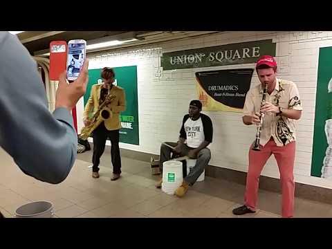 New York Street Music 1 Drumadics - Union Square
