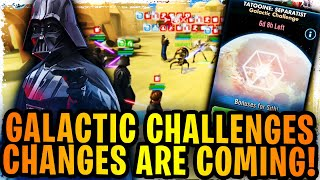 Galactic Challenges Changes Confirmed Coming! How to Fix Galactic Challenges!