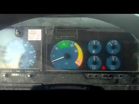 MB Atego 815 cold start @ -27C