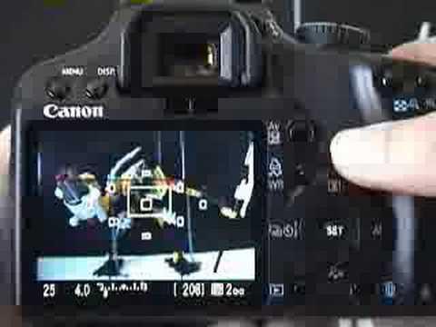 Canon XSi Live View