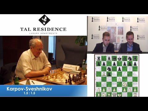 E.Sveshnikov vs A.Karpov - Game 4