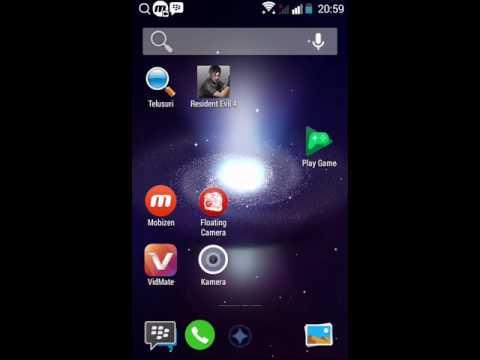 Cara memasang BBM ID II /BBM Transparan di android anda