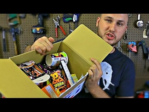 Japanese Candy Taste Test - Fan Mail Unboxing