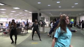 uwf john c pace library flash mob
