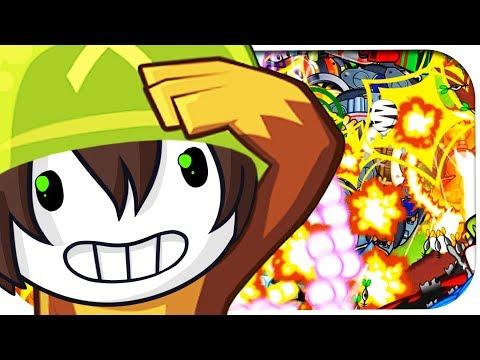 ICH werde von TAUSENDEN Ballons ÜBERRANNT! ☆ Bloons Tower Defense 5