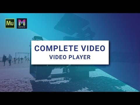 Complete  Widget   Player  Adobe Muse CC  Muse For You