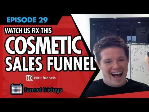 Watch Us Fix This Cosmetics Sales Funnel Template In Under 30 Minutes