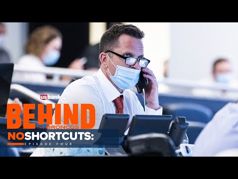 An exclusive look inside the Broncos' 2021 draft room   Behind the Broncos: No Shortcuts (Ep. 4)