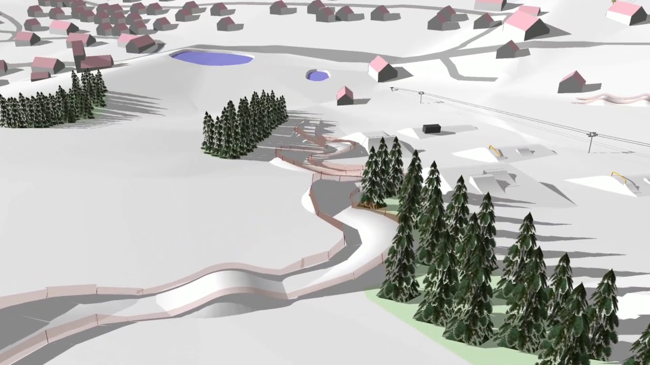 Snowpark a fun zone