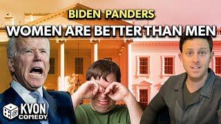 Biden Panders
