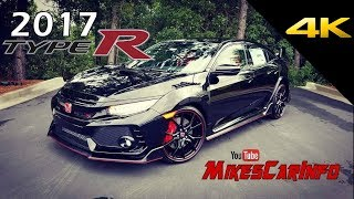 2017 2018 Honda Civic Type R - Ultimate In-Depth Look In 4K