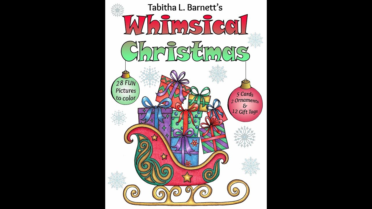 Whimsical Christmas Look Inside - YouTube