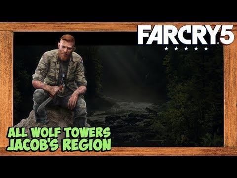 Far Cry 5 All Wolf Beacons Locations Jacob S Region Youtube