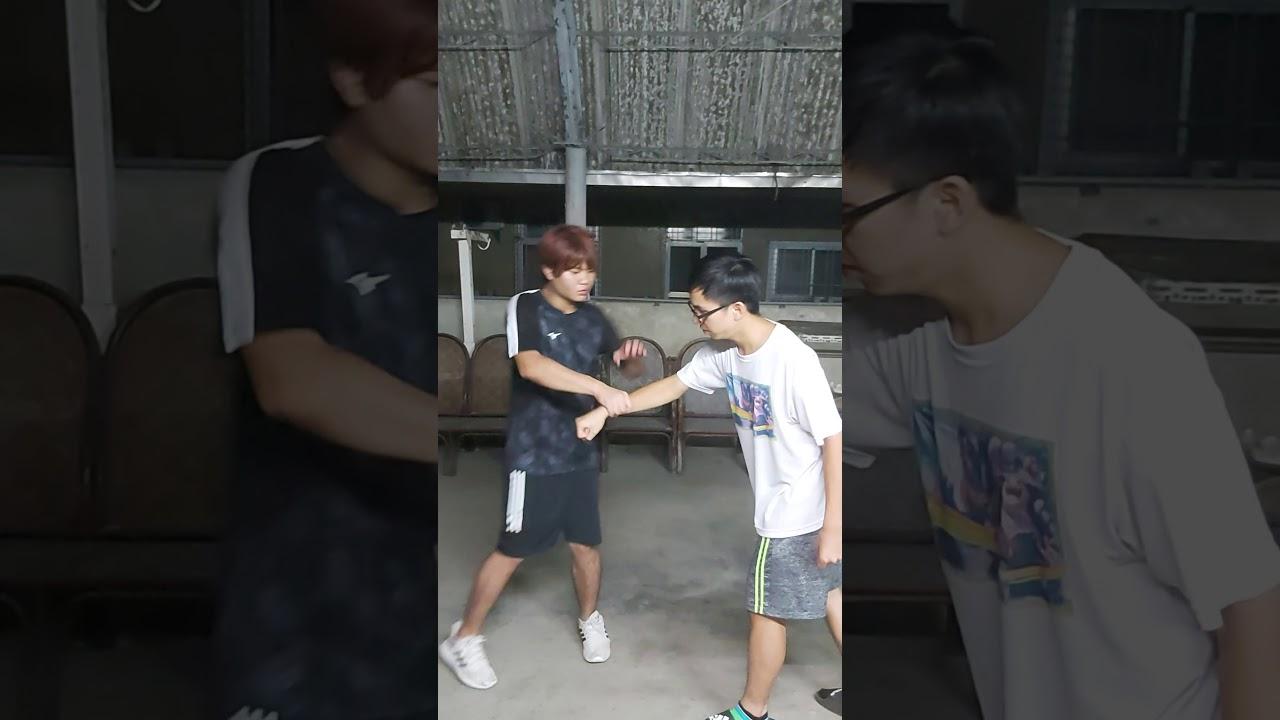 防身術(4) - YouTube