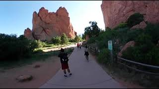 Garden of the Gods, Colorado Springs, Colorado 360 VR Travel Guide