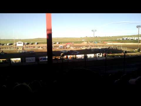 Destruction Derby at El Paso County Speedway