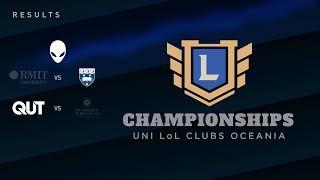 Oceanic University Championships - Playoffs - Day 1