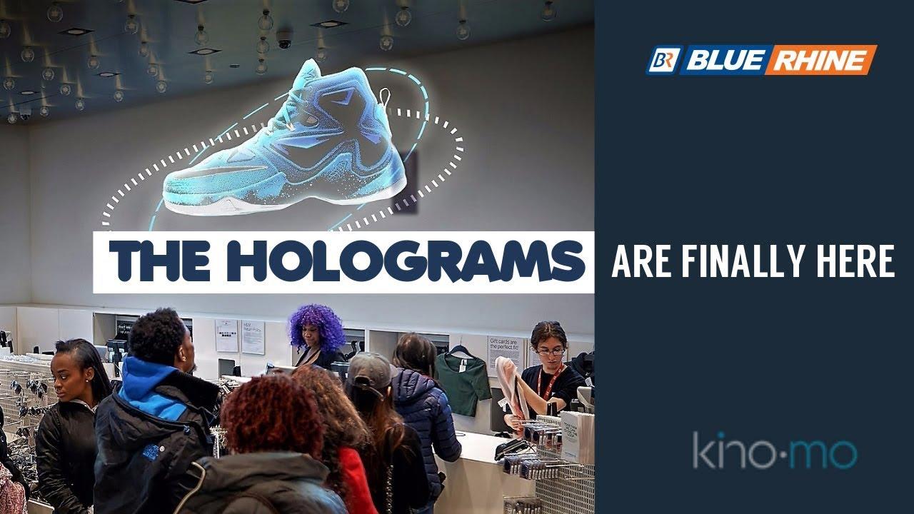 Hypervsn x Blue Rhine Holographic Displays