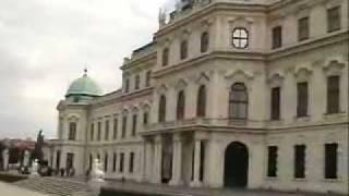 Австрия. Вена. Дворцовый комплекс Бельведер.(http://www.town-explorer.ru/vienna/ - достопримечательности Вены на карте, фото и видео., 2011-09-27T11:36:58.000Z)