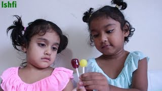 Lolli Pop Finger Family Song Nursery Rhymes with Real Toddler Sisters Rufi & Ishfi