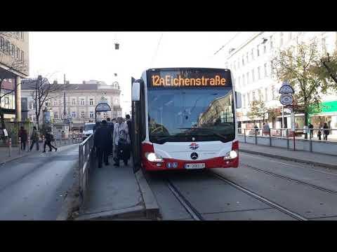 Straßenbahn 5 49 Bus 12a Wien Youtube