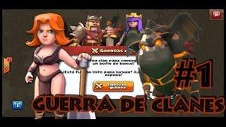 Clash of Clans l Guerra de Clanes l Valquirias y Sabueso de Lava
