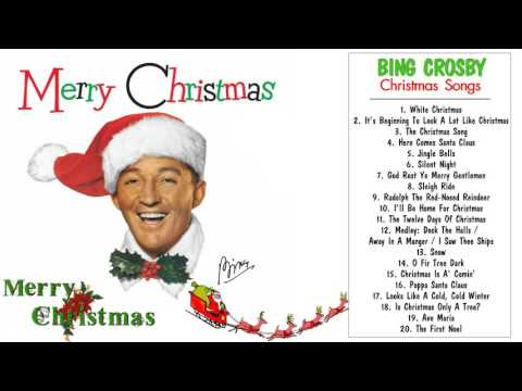 Christmas Songs By Bing Crosby || The Most Famous Bing Crosby Christmas Songs