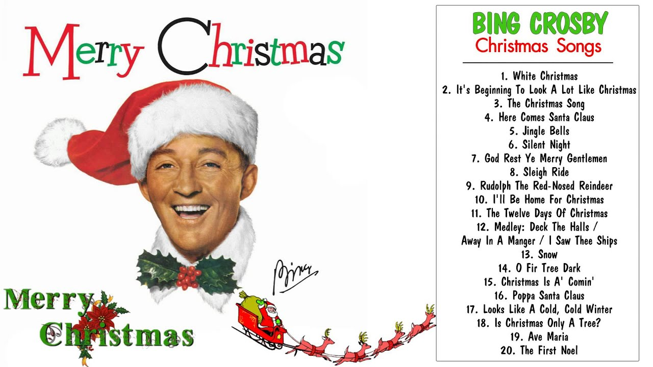 christmas songs by bing crosby the most famous bing crosby christmas songs