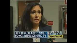 Judiciary supports armed school resource officers
