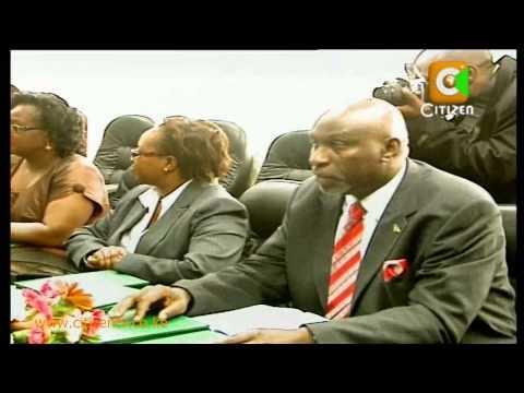 Kibaki on CIC Report