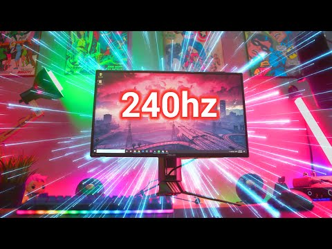 ASUS PG258Q Review!  The Best 240hz Monitor Yet?!?!